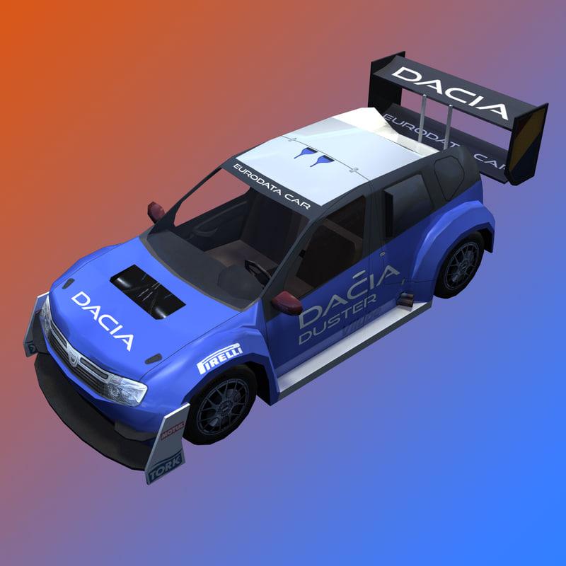 max dacia duster rally car