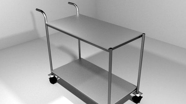 3ds trolley kitchen