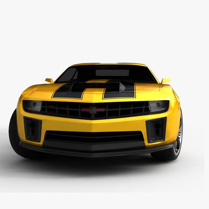 2013 chevrolet camaro bumblebee 3d model