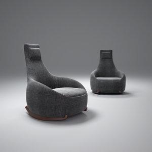 dim-sum-chair 3d max