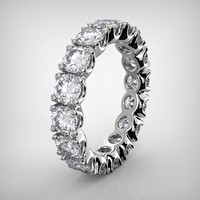 diamond eternity band 3dm