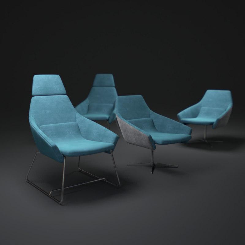 simon-pengelly-wrap-chair 3d model
