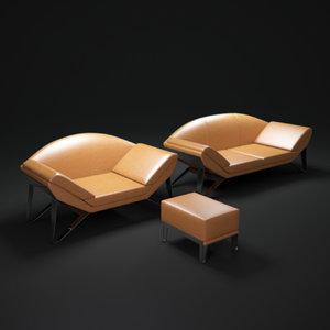 3d v010-sofa model