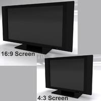 LCD TV 16:9 & 4:3