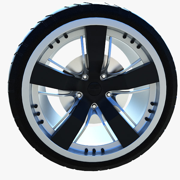 wheel camaro 3ds free
