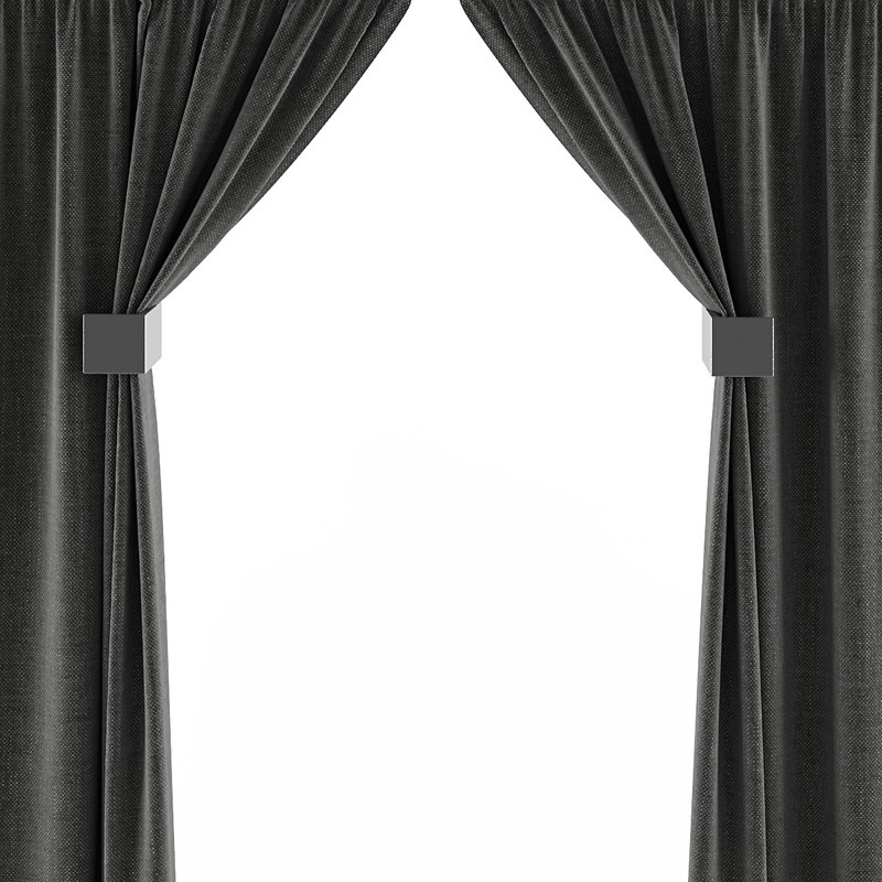 curtains fbx