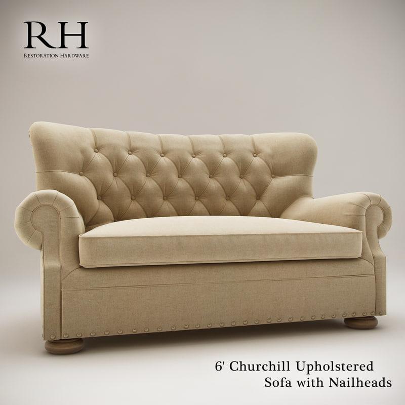 3d restoration 6 churchill upholstered