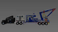coiled tubing truck oil 3d max