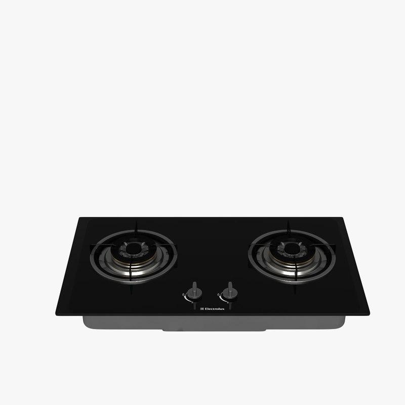 cooktop 3d model