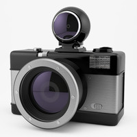 photo camera lomography fisheye 3d max