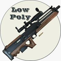 Walther WA 2000 Low Poly