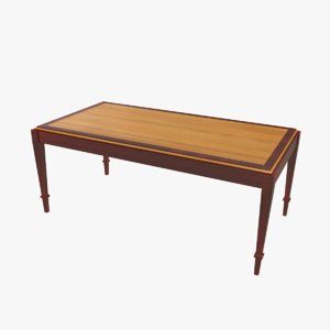 max vintage coffee table