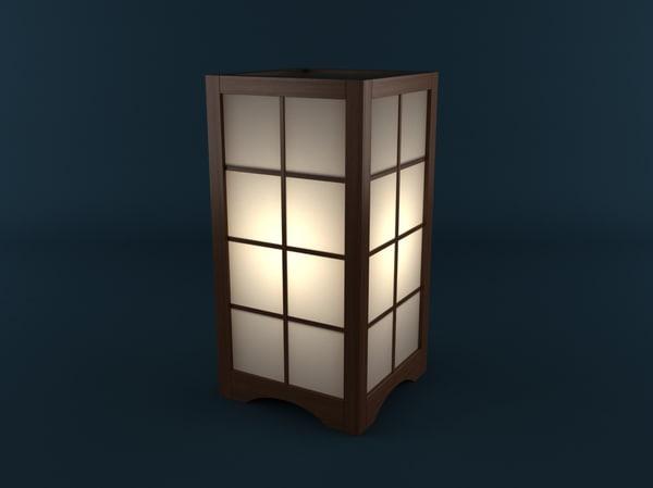 3ds max lamp japan