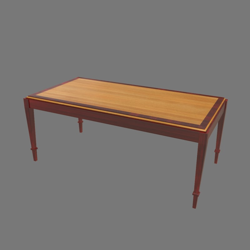 max vintage coffee table