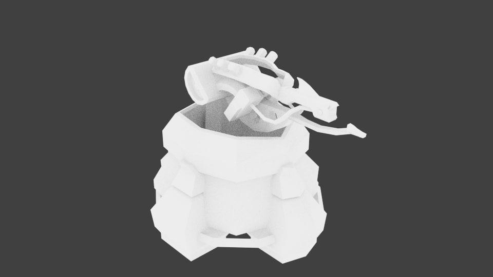 3d turret -