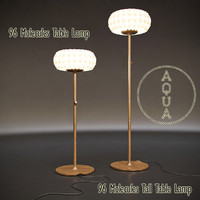 max aqua 96 molecules floor lamp
