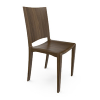 3d model hudson renzo piano chair