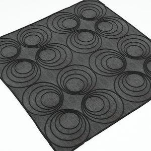 free carpet 3d model