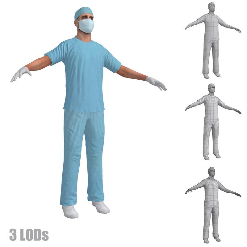 surgeon 2 3d max