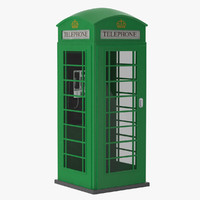 green telephone box max