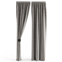 3d curtains slim