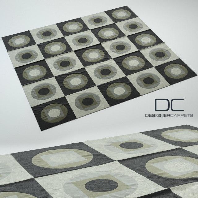 3d model carpet design