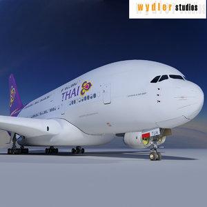 obj a380 thai airways