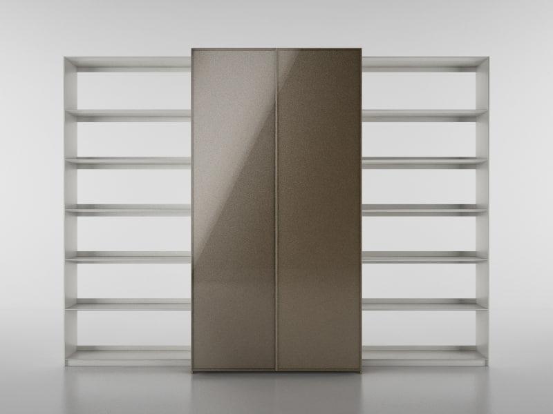 3d b bookcase 6 - model