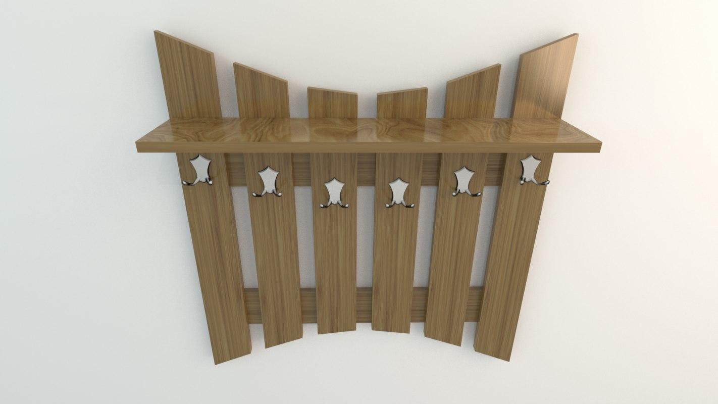 3ds coat hanger