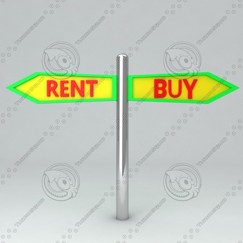 board icon rent 3d model