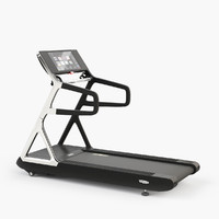 technogym run personal treadmill 3d max