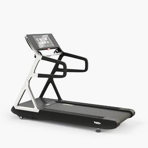 technogym run personal treadmill 3d max