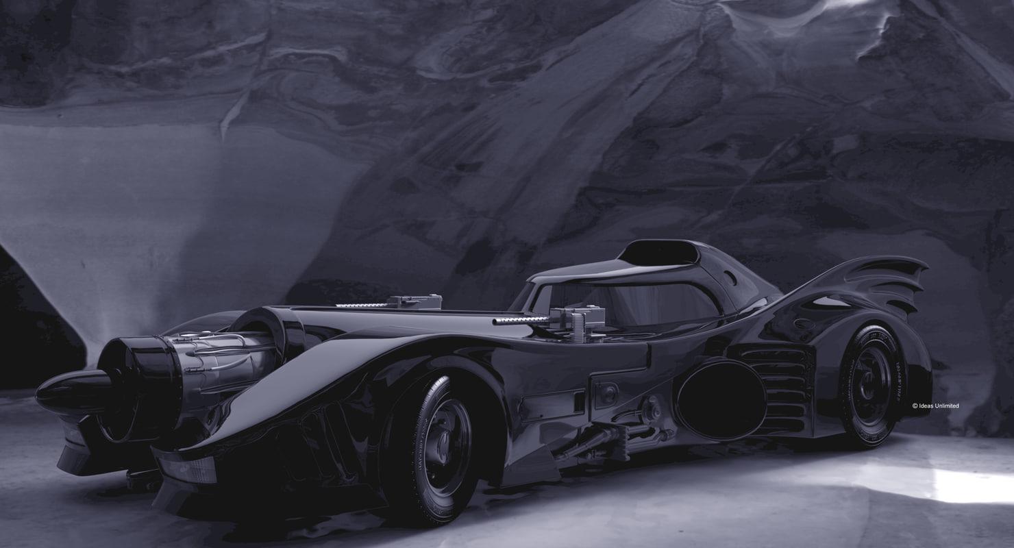 3d model batmobile car
