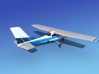 3d model propeller cessna 172 cutlass