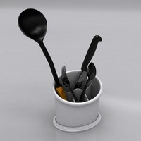 3d drainer dish model