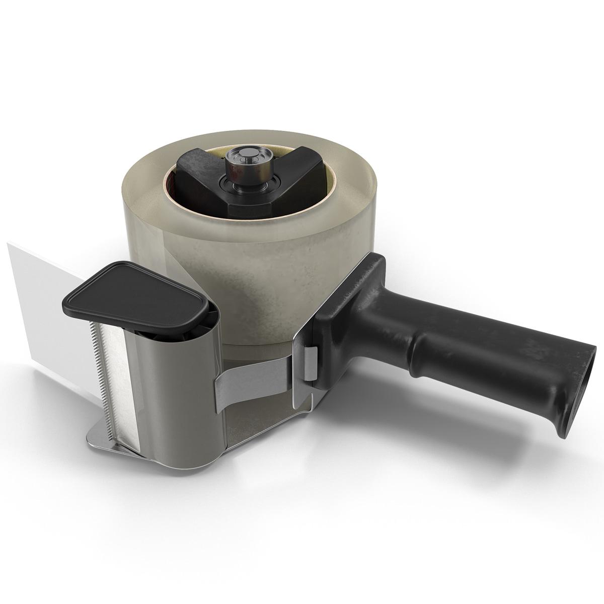 packaging tape dispenser 3d 3ds