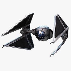 3d model tie interceptor