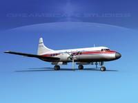 3ds propellers convair 340 charter