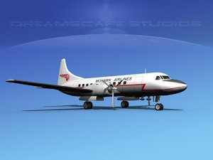 propellers convair 340 max