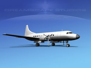 3d propellers convair 340