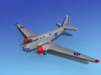 3ds douglas b-18 bolo bomber