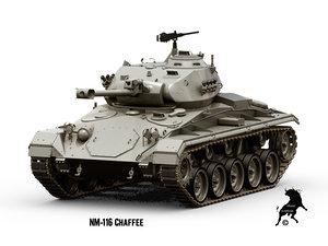 norwegian tanks nm-116 3d max