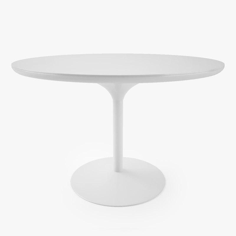 verpan panton table 3d max