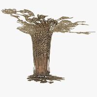 3d model art column