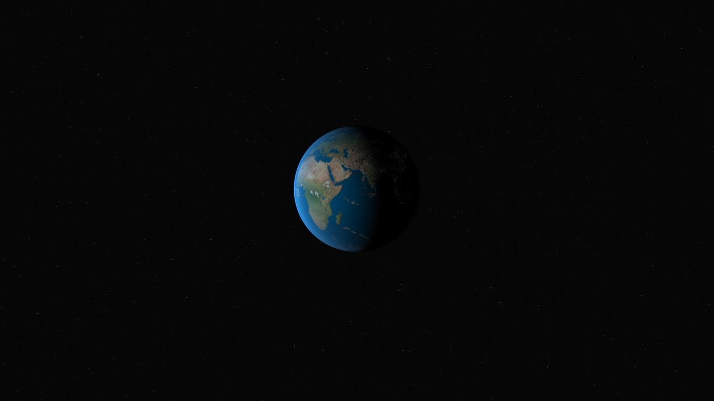 3d earth 8k