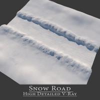 snow road max