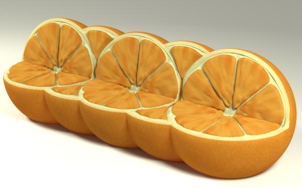sofa natural 3d max