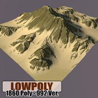 mountain games terrain 3d max