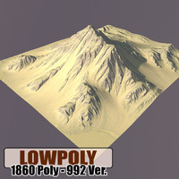 3d mountain games terrain