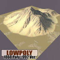 3d max mountain games terrain